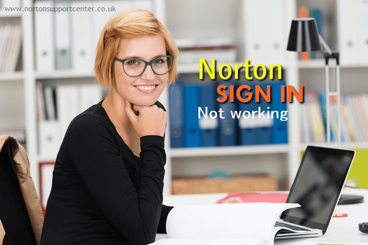 Norton sign in not working
