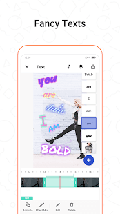 Funimate fancy text