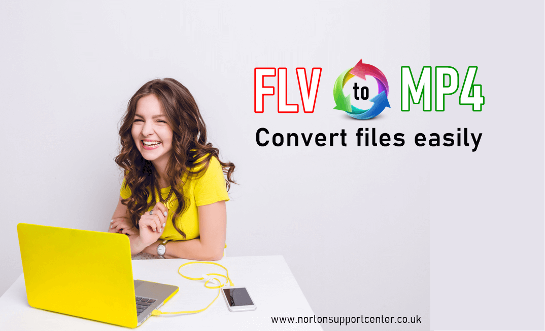 convert flv file to mp4