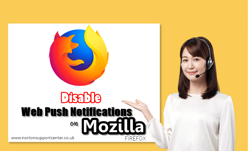 How to Disable Web Push Notifications on Mozilla Firefox
